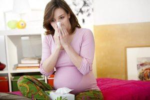 Простуда при беременности во втором триместре