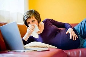 Простуда во втором триместре беременности