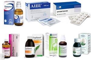 Лекарственные препараты для лечения трахеобронхита