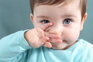Ребенок хрюкает носом, а соплей нет