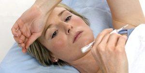 Повышенная температура после операции